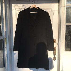 Harry Rosen CANALI 100% Cashmere Black Jacket